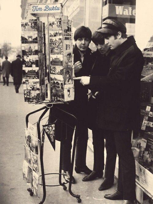 Schon die Beatles liebten Postkarten