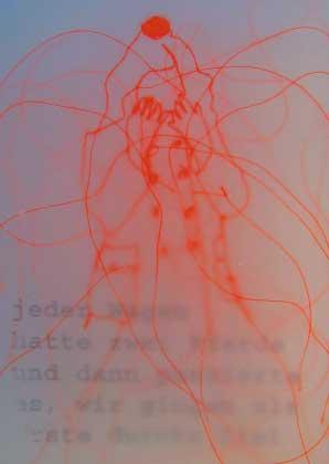 Kunst DIN A6 - Carmela Maria Gander 1