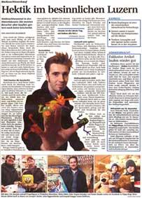 Artikel in der NLZ