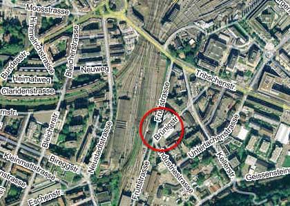 Lageplan Brünigstrasse 24