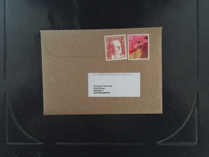 Postcard Privacy Envelope 7