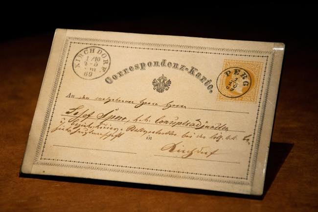 150 Jahre Postkarten – Wer hat sie erfunden?