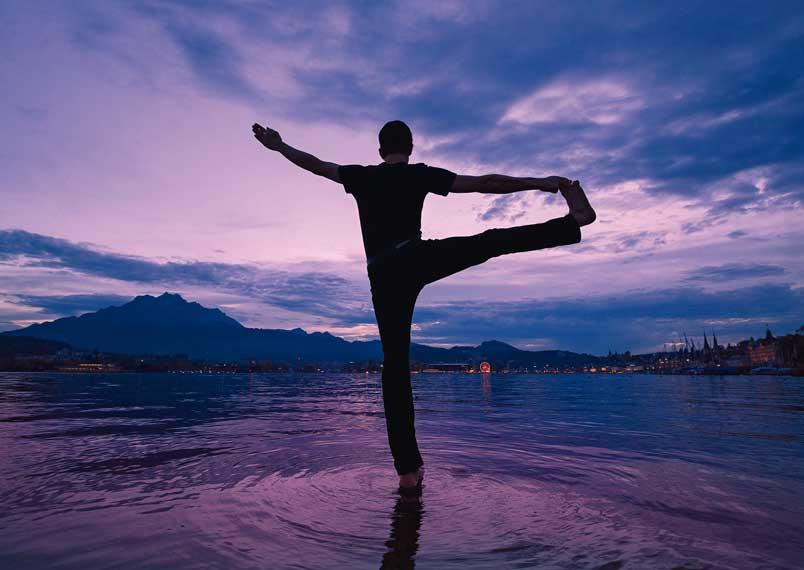Tim Buktu Postkarte 3169 yoga-fotografie