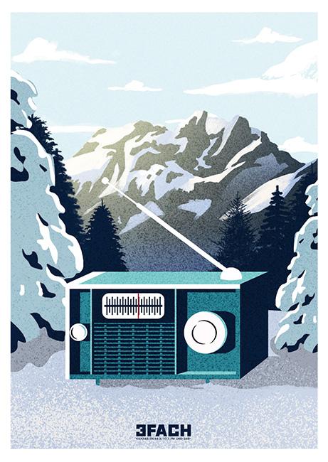 Tim Buktu Postkarte 4128 Radio 3FACH