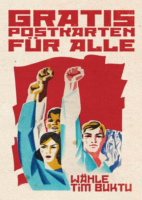 Tim Buktu Postkarte 4188 Vote Tim Buktu Gratispostkarten