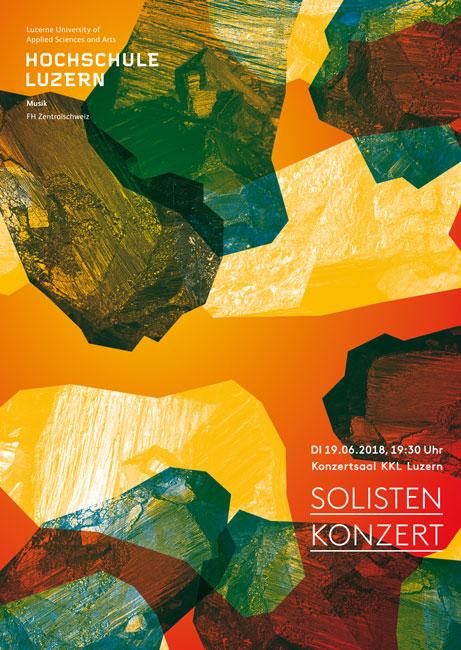 Tim Buktu Postkarte 4218 HSLU Musik Solistenkonzerte