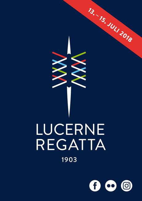 Tim Buktu Postkarte 4223 Lucerne Regatta 2018