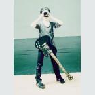 Tim Buktu Gratispostkarte 3845 I-Guitar Songlines