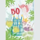 Tim Buktu Gratispostkarte 4060 Kleintheater Kinderprogramm