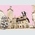 Tim Buktu Gratispostkarte 4195 Luzerner Karten Rathaus